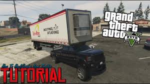 100 Gta 5 Trucks And Trailers GTA Tutorial How To LoadHaul A Semi Trailer With A Pickup YouTube
