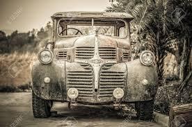 100 Vintage Dodge Trucks SARABURI PROVINCE THAILAND DECEMBER 10 2014 A