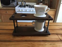 Pour Over Coffee Dripper Stand Industrial