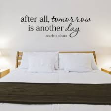 Gone With The Wind Curtain Dress Quote by After All Tomorrow Is Another Day Wall Decal Scarlett