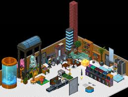 Habbo Furniture With Zoom Out Public RoomsUPDATE3