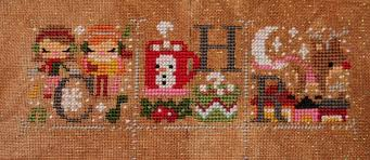 The Frosted Pumpkin Stitchery Facebook by Passione Ricamo The Occasional Crafter