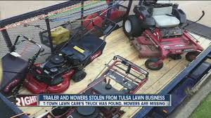 Trailer And Mowers Stolen From Tulsa Lawn Business - YouTube Best Of 20 Images Craigslist Tulsa Trucks New Cars And Fniture For Sale By Owner Beautiful Month July Omaha Used And Available Luxury Los Angeles California Craigslist Scam Ads Dected On 02212014 Updated Vehicle Scams 30 Days 2013 Ram 1500 The Things In Life Are Freeat Least Any Ideas On How This Truck Is Set Up Tacoma World Inland Scrap Metal Recycling News Prices Our Company Burglar Steals Equipment From News 6 Storm Newson6com Exchange Leads To Robbery Outside Restaurant