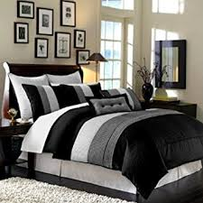 Amazon Legacy Decor 8pcs Modern Black White Grey Luxury