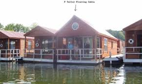 Floating Cabin Homes as Stationary Houseboats