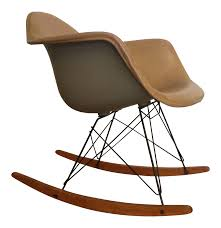 1950's Eames For Herman Miller Rocking Chair Black 2014 Herman Miller Eames Rar Rocking Arm Chairs In Very Good Cdition White Rocking Chair Charles Ray Eames And For Vintage Brown By C Frank Landau For Sale Rope Edge Chair 1950s Midcentury Modern Rar A Pair 1948 Retro Obsessions