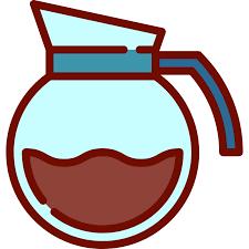 Coffee Food Hot Drink Shop Pot Icon