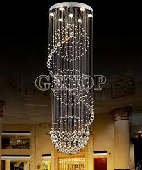 z moderne k9 kristall kronleuchter lichter spirale design le für wohnzimmer droplight treppenlicht led pendelleuchte