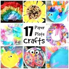 Design Ideas Fun Crafts To Do At Home With Household Items Easy Paper Plate For Kids Happy Hooligans Craft