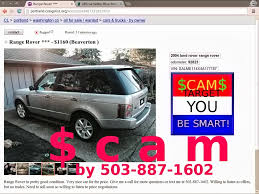 100 Portland Craigslist Cars And Trucks By Owner VEHICLE SHIPPING SCAM ADS ON CRAIGSLIST UPDATE 022314 Vehicle