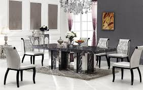 Bologna Marble Dining Table With 8 Chairs