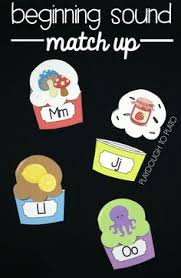 Snowman rhyming puzzles A fun and free way for kindergarten and