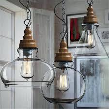pendant light glass industrial pendant light creative loft style