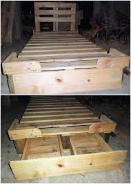 70 Diy Pallet Ideas How Make A Shelving Unit Out Of Pallets Build Garage Shelves From