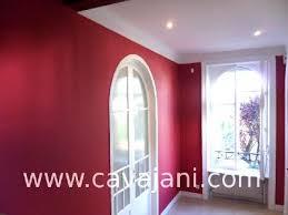 peinture tapisserie enduit bicolore tricolore parquets