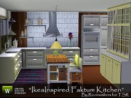 TheNumbersWomans Ikea Inspired Faktum Kitchen