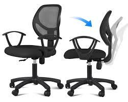 Ebay Computer Desk Chairs by Amazon Com Yaheetech Ergonomic Mesh Computer Office Desk Task