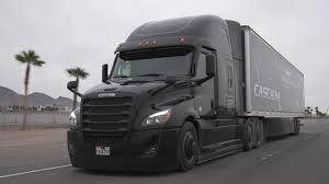 100 Cascadia Trucks Daimler Freightliner Active Lane Assist Lake