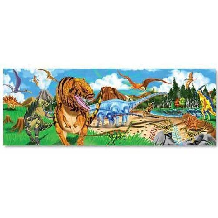 Melissa and Doug 10442 Giant Floor Jigsaw Puzzle - Land of Dinosaurs