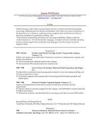 Download Sample Resume Format