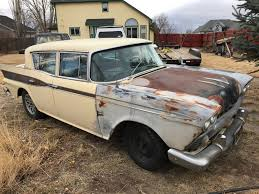 1959 AMC Rambler Custom | EBay Motors, Cars & Trucks, AMC | EBay ... Car Truck Parts Accsories Ebay Motors Frightfully Yours Rob Zombies Ford F100 Blog Woodward Dream Cruise With Thegentlemanracercom Us 19500 Used In Cars Trucks 1963 Unusual E Bay Photos Classic Ideas Boiqinfo 1966 Chevy C10 Current Pics 2013up Attitude Paint Jobs Harley Land Rover Defender 88 Series Iia Vintage Items The Little Red Store On If You Want Leather And Luxury Maybe This 1947 Dodge Power Wagon