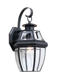 8067 12 one light outdoor wall lantern black