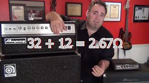Ampeg V4 Cabinet Ohms by Tips And Tricks Understand Impedance Ampeg Heads And Cabs