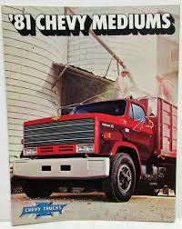 100 81 Chevy Truck 19 Chevrolet Medium Duty S Sales Brochure