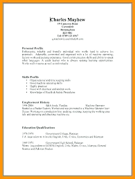 Copy A Resume 3 Download Paste Examples