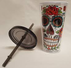 Easy Sugar Skull Day Of by Sugar Skull Day Of The Dead Double Wall Tumbler Cup My Sugar Skulls