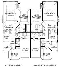 Images Duplex Housing Plans by Atterbury Duplex House Plan 5283 2 Bedrooms And 2 Baths The