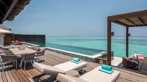 chambre sur pilotis maldives suite trois chambres sur pilotis