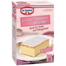 dr oetker cremeschnittencreme vanillegeschmack 184g