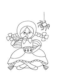 Nursery Rhymes Printable Coloring Book