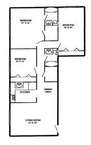 3 Bedroom 2 Bath Westmont Gardens Apartments