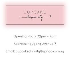 Cupcake Divinity Contact Us