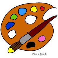 Art Pallet Clipart 1