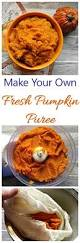 Freezing Pumpkin Puree For Smoothies by Fresh Pumpkin Puree How To Make This Fall Staple Recipes Just 4u