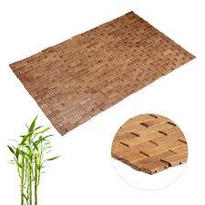 matten möbel wohnen bambusmatte 50x80 saunamatte