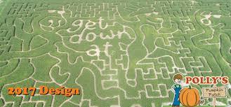 Pumpkin Farms Wisconsin by Pollys Pumpkin Patch Activities Corn Maze