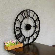 wanduhr metall wand wohnzimmer uhr dekouhr vintage designuhr