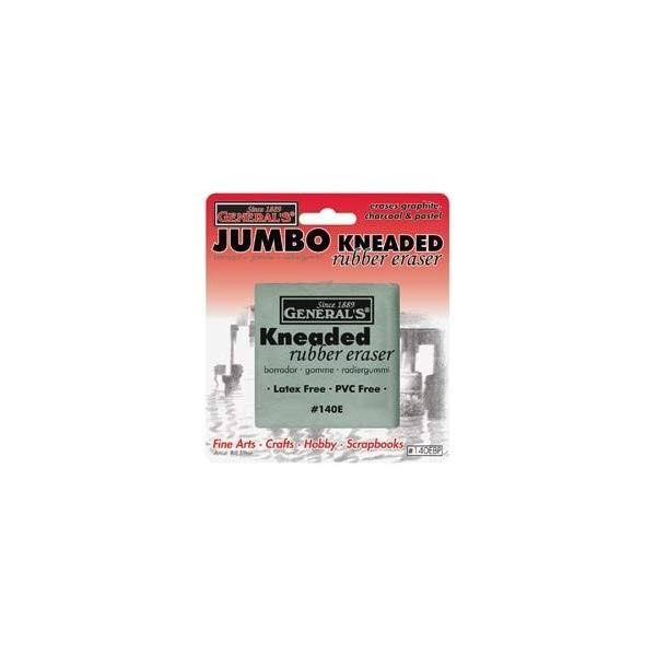 General Pencil Kneaded Rubber Eraser - Jumbo, 1pk, Latex and Lanolin Free