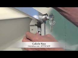 Hon Filing Cabinet Lock Kit by Hon F26 Vertical File Cabinet Lock Kit Install Youtube