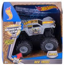 100 Max D Monster Truck Amazoncom Hot Wheels Jam Rev Tredz Vehicle Silver