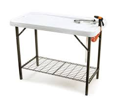 Fish Cleaning Table With Sink Bass Pro by Amazon Com Seek Skft 48s Deluxe Cleaning Table Garden U0026 Outdoor