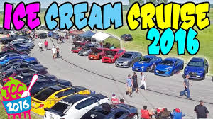 BIGGEST Car Show In The MIDWEST!? - ICE CREAM CRUISE 2016!! - YouTube