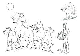 Realistic Horse Coloring Pages Head Elegant Printable Crayola Photo Page