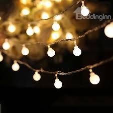 white 80 string bulbs battery decorative led lights indoor