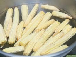 cuisiner des epis de mais 8 ères de faire cuire des minis épis de maïs