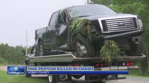 100 Tidewater Trucking SCHP Pickup Truck Driver Killed In Horry County Accident